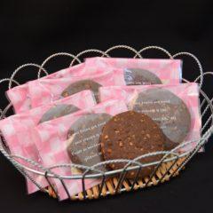 ココア・アーモンドクッキー