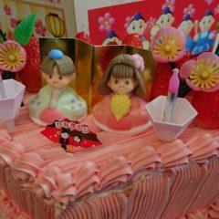 【期間限定】ひな祭りケーキ